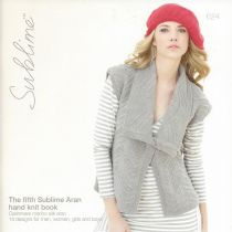 624 - The fifth Sublime Aran hand knit book